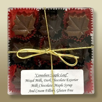 Maple Leaf Chocolate Giftbox