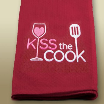 Towel Kiss the Cook
