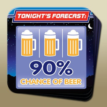 Coaster - Chance of Beer