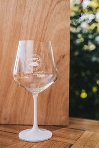 Wine Glass - White Stem