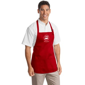 Apron - Red with Pockets