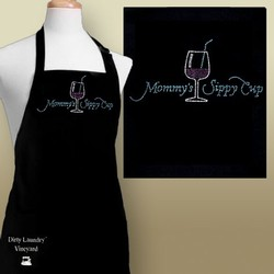 Mommy's Sippy Cup Apron