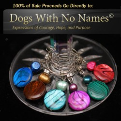 Dogs With No Names Wine Charms