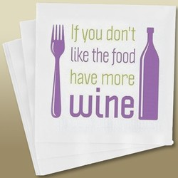 Napkins - Have More Wine Image