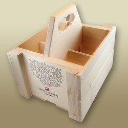 Four Bottle Crate