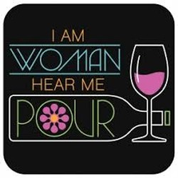 I am Woman Coaster Image