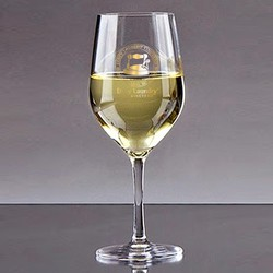 Wine Glass - White (350ml)